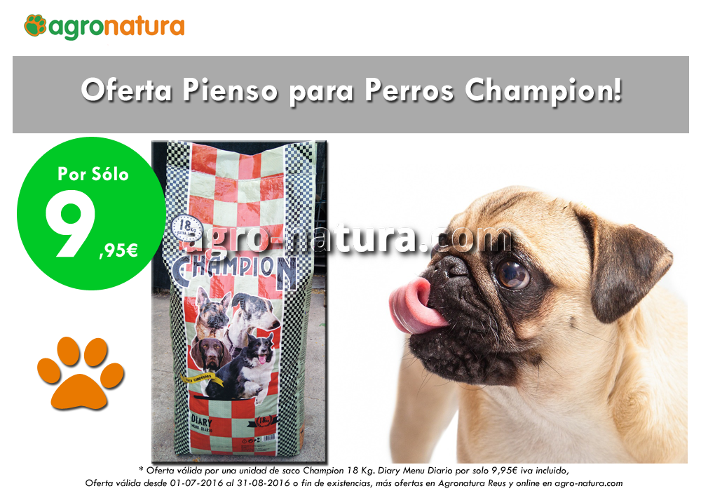Ofertas Pienso para perros – Agronatura Reus