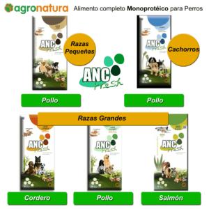 Alimento completo Monoprotéico para perros ANC Fresh