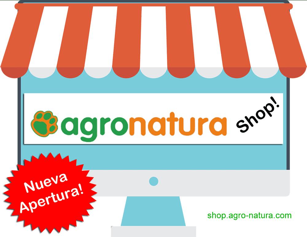 Tienda online para mascotas Agronatura Shop nueva apertura