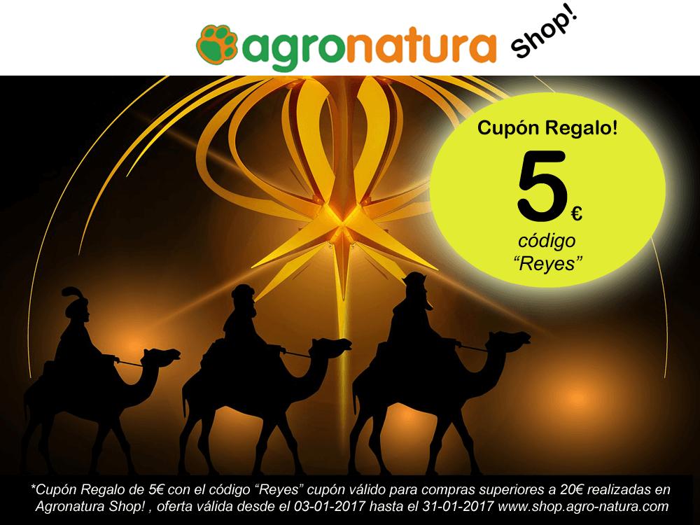 Cupón Regalo Agronatura Shop Reyes magos 2017