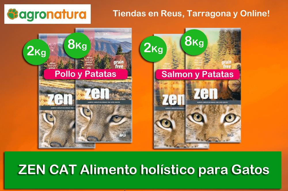 Alimento holístico para gatos ZEN Cat