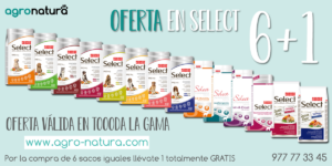 Oferta 6+1 Pienso Select Picart - Agronatura tienda de animales