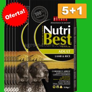 Oferta Nutribest Adult Lamb & Rice