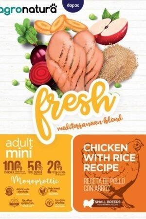 ANC Fresh Adult Mini Pollo y Arroz_agronatura