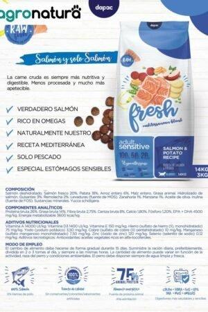 ANC Fresh Adult Sensitive Salmón y Patata saco_agronatura