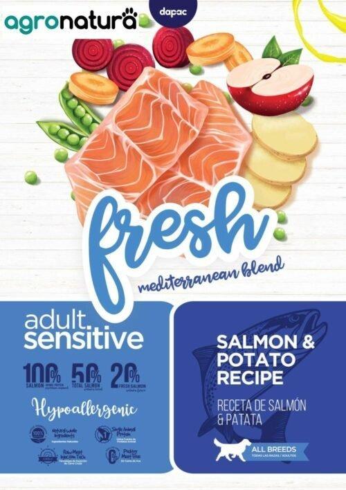 ANC Fresh Adult Sensitive Salmón y Patata_agronatura