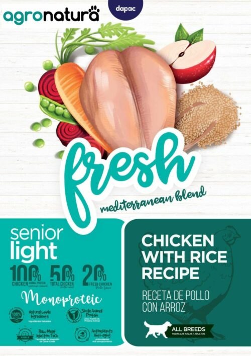 ANC Fresh Mature Light Pollo y Arroz_agronatura