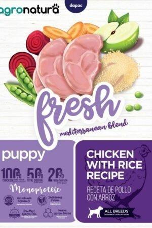 ANC Fresh Puppy Pollo y Arroz_agronatura
