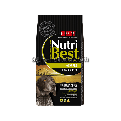 NutriBest Adult Lamb & Rice