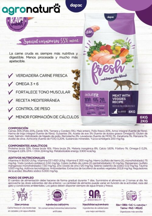 ANCAT Fresh Adult saco_agronatura