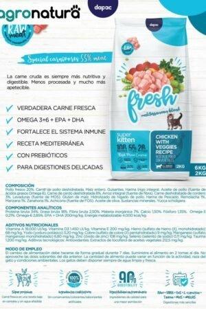 ANCAT Fresh Kitten saco_agronatura