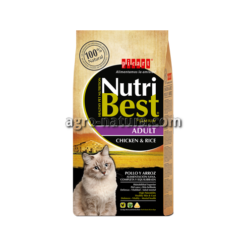 NutriBest Cat Adult Chicken and Rice