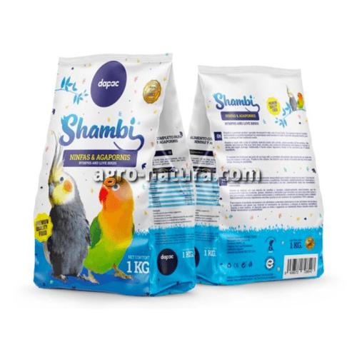 Shambi alimento para ninfas y agapornis 1kg
