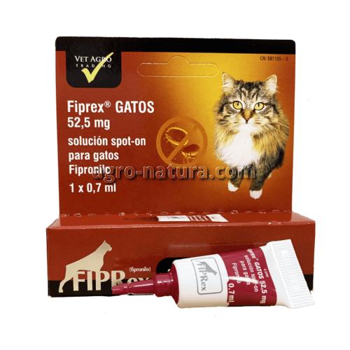 Pipeta antiparasitaria FIPREX para gatos