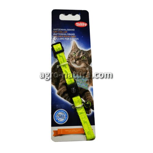 Collar gato peces neon nobby verde
