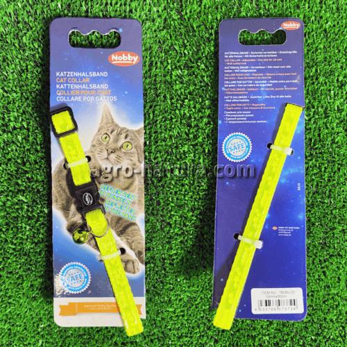 Collar gato amarillo fluor nobby comprar reus Agronatura