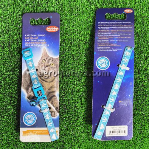 Collar gato azul coronas nobby comprar reus Agronatura