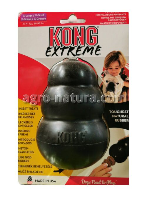 Juguete Kong Classic negro