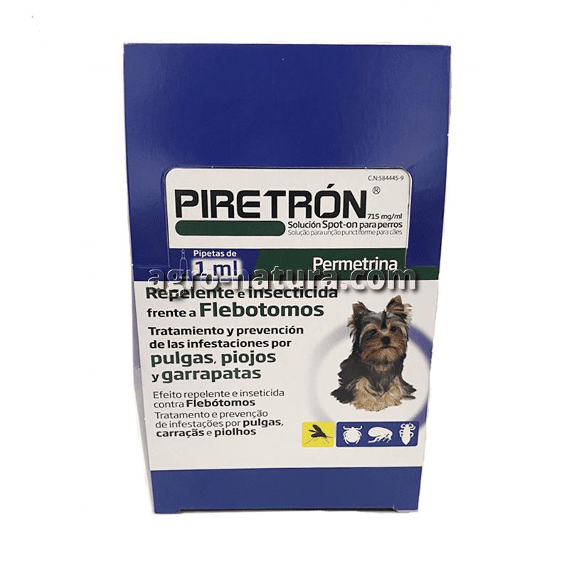 Pipeta antiparasitaria Piretrón para perros