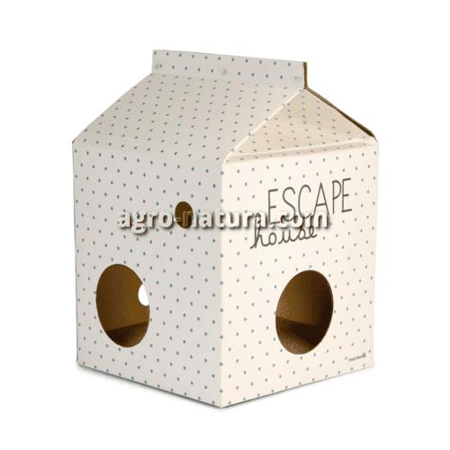 """Casa de cartón para gatos """"Escape"""""""