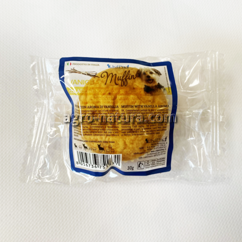 Muffin sabor Vainilla para perros