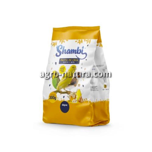 Pasta de Huevo para crias de ave formato 300 gr y 900 gr