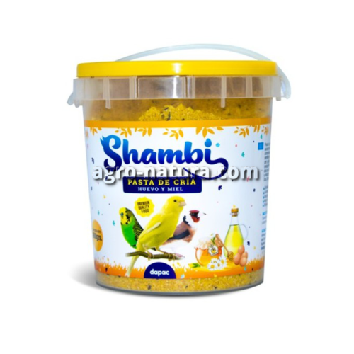 Pasta de Huevo para cría de pajaro Shambi 300 gr y 900 gr