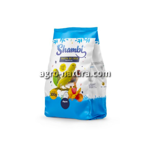 SHAMBI Pasta de cría tropical 300 gr