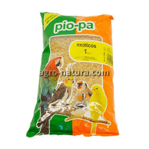 Pio-pa alimento para pájaros exóticos y tropicales 1 kg