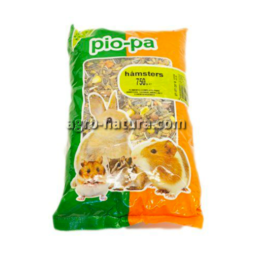 Pio-pa alimento para hámsters de 750 gr