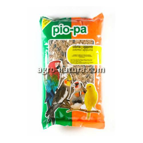 Pio-pa alimento para cotorras y agapornis de 1 kg