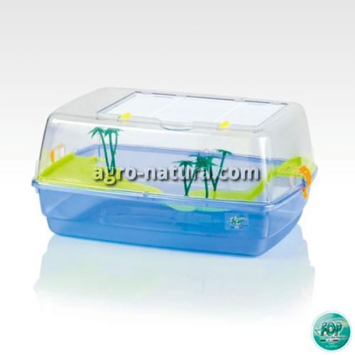 tortuguera para tortugas de agua de plastico pequeña