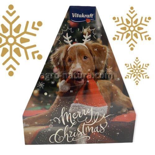 Calendario Adviento de Navidad para perros Vitakrft