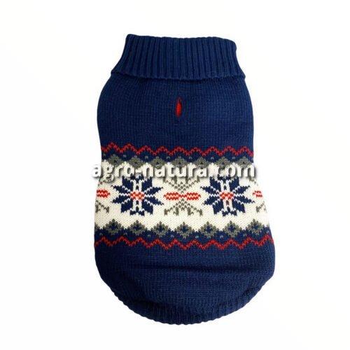 Jersey de Invierno para perros estampado navideño