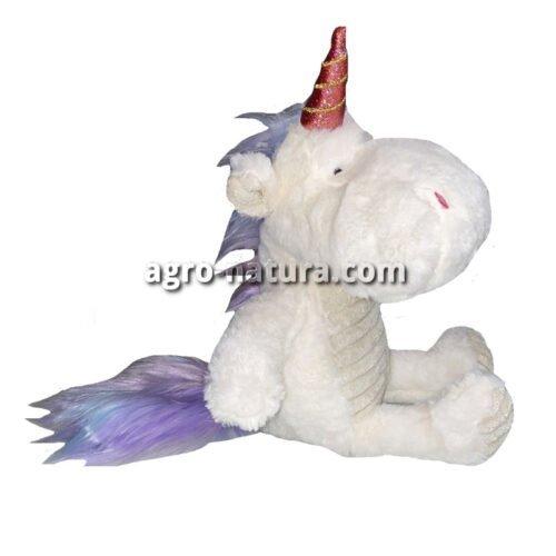 Peluche 35 cm para perros Dragon Unicornio